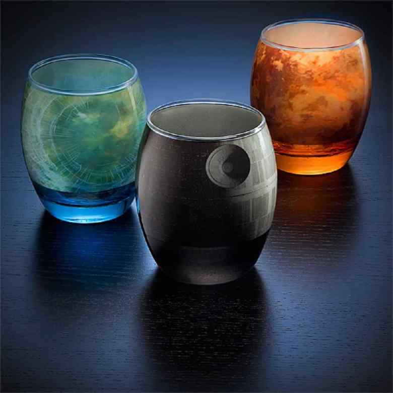 Star Wars Planetarium Glassware
