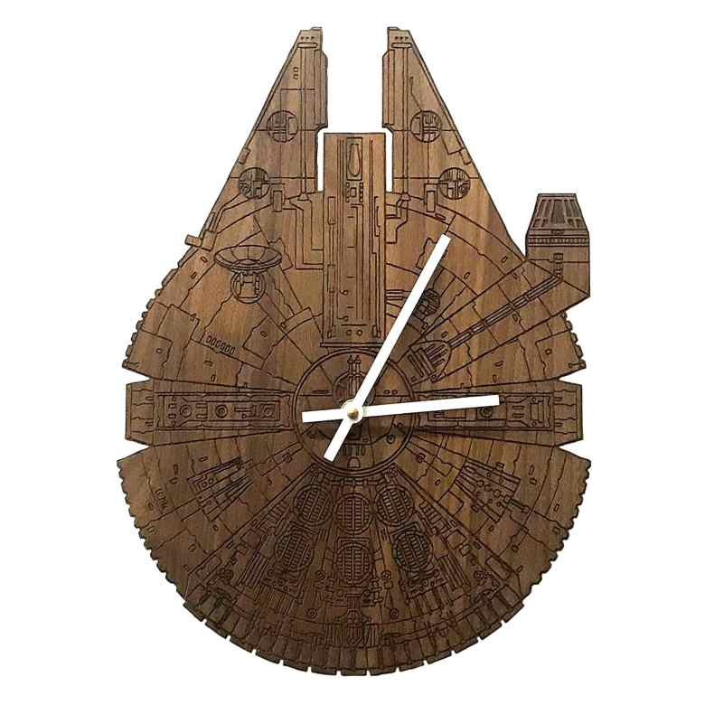 Millenium Falcon Wall Clock