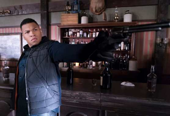 "Franz Drameh as Jefferson ""Jax"" Jackson. Photo courtesy of DC Legends TV."