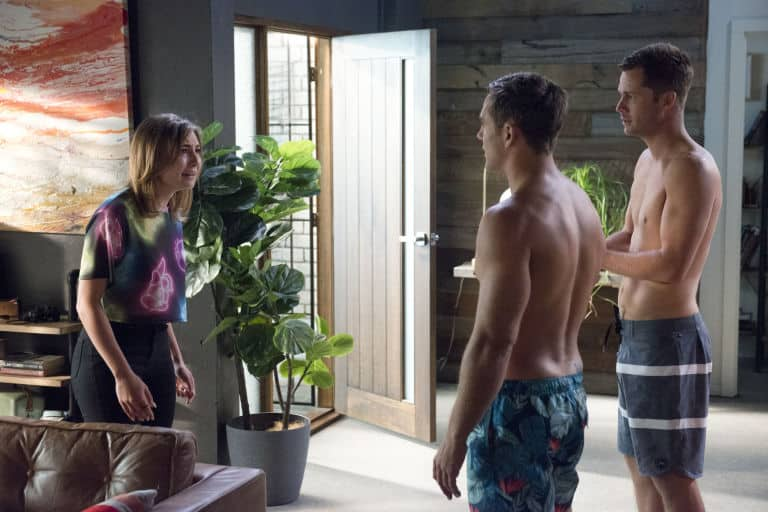 Neighbours Piper, Mark, Aaron