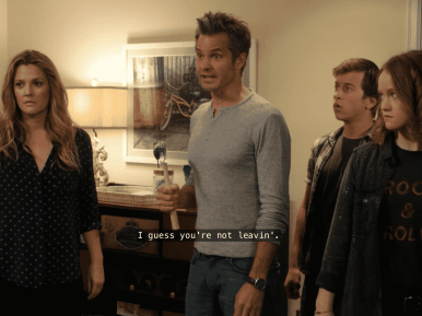 Image Captured via Netflix: Santa Clarita Diet Season 2 Episode 4 - The Queen of England