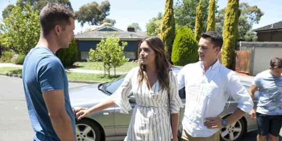 Neighbours - Paige and Jack