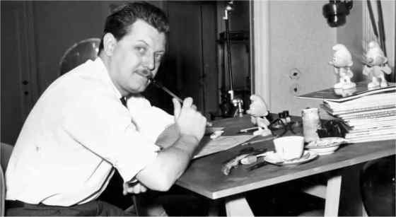Pierre Culliford, the Smurfs creator