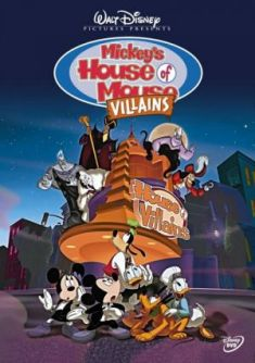 Mickey's House of Villains DVD