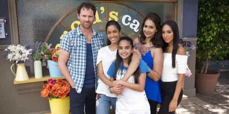 Neighbours Sharma Rebecchi family