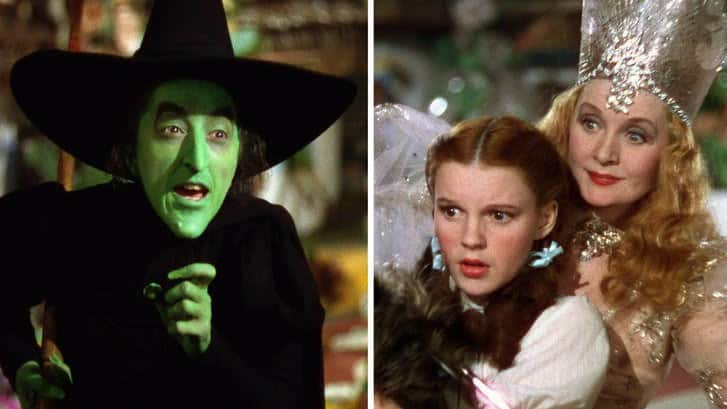 Glinda, Dorothy and the Wicked Witch of the West