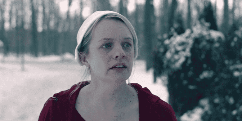 "June (Elisabeth Moss) on The Handmaid's Tale ""Holly"""