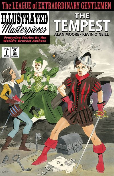 League of Extraordinary Gentlemen: The Tempest #1