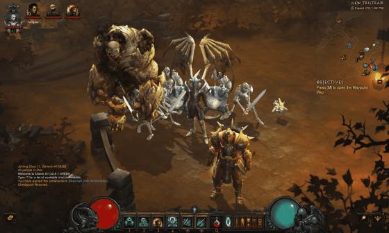 Lv 70 Necromancer with minions