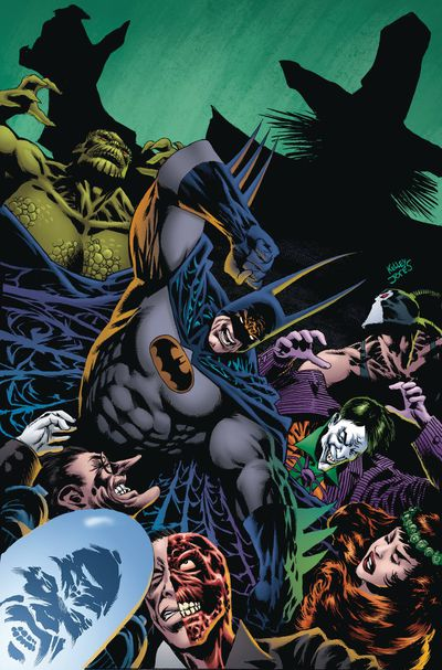 Cover of Batman: Kings of Fear #1