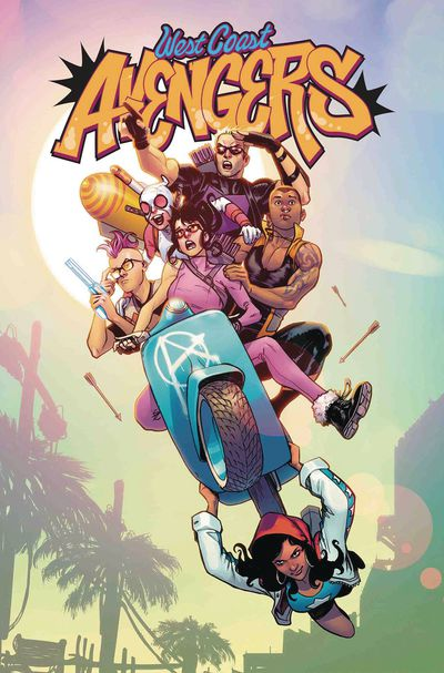 Cover for West Coast Avengers #1