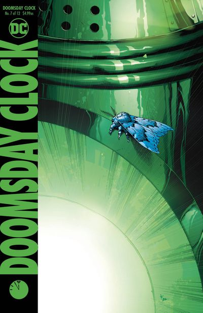 Cover for Doomsday Clock #7