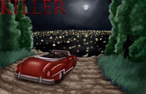 """Killer"" animated drawing"