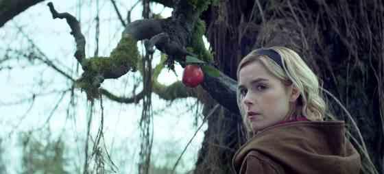 Kiernan Shipka as Sabrina in The Chilling Adventures of Sabrina