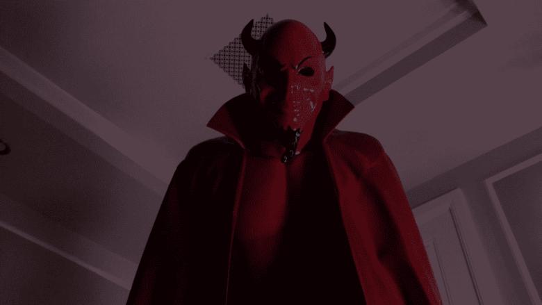 The Red Devil Mascot on Scream Queens