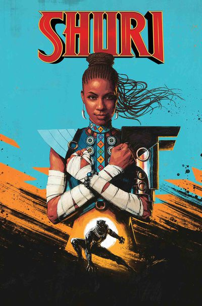 Cover for Shuri #1