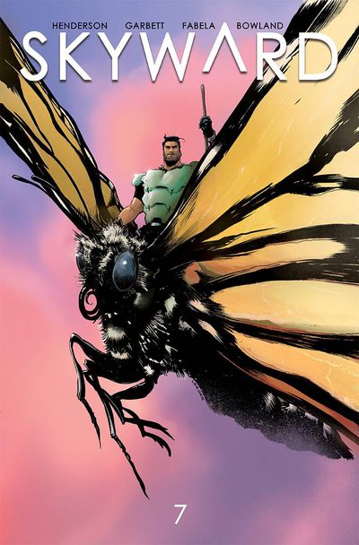 Cover for Skyward #7