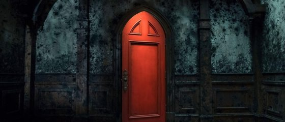 red door haunting of the hill house