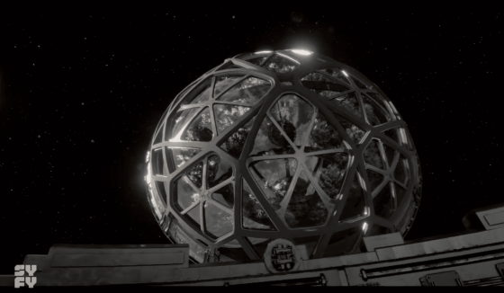 The gardenPhoto Source: Nightflyers on Sci-Fi, screenshot by Crystal Spears from The Game of Nerds