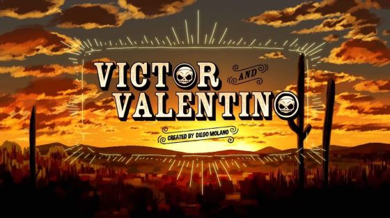 Victor and Valentino (Title Card)