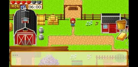 start of Harvest Master Farm Simulator