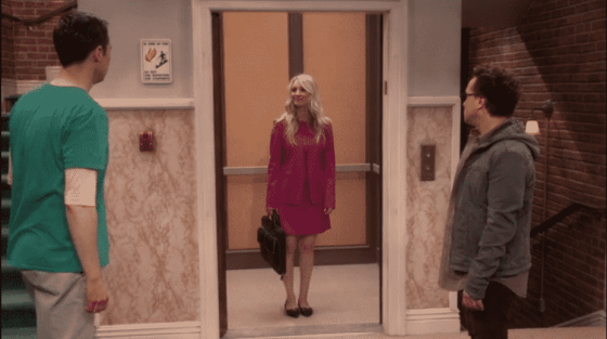 Sheldon, Penny, and Leonard on The Big Bang Theory series finale