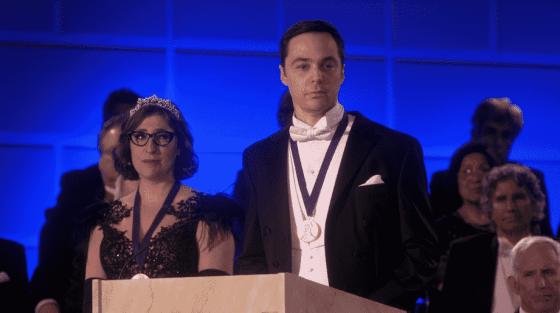 Amy and Sheldon on The Big Bang Theory series finale