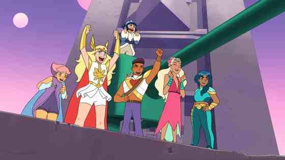 She-Ra Season 2 (Glimmer-She-Ra-Frosta-Bow-Perfuma-Mermista)