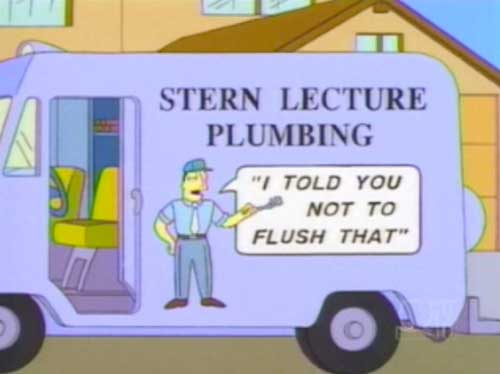 simpsons signs 13