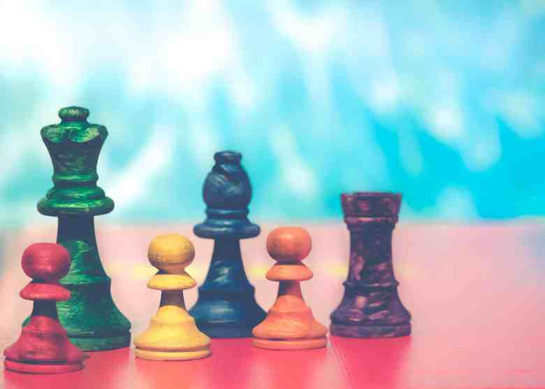 Colorful Chess Gaming