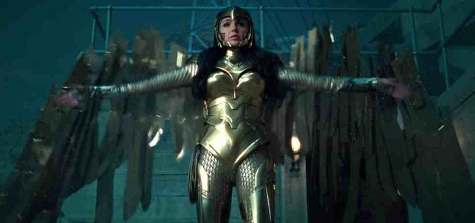 Wonder Woman 1984 Golden Armor