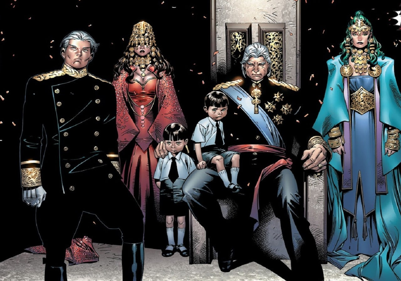 The House of M Magnus Royal Family