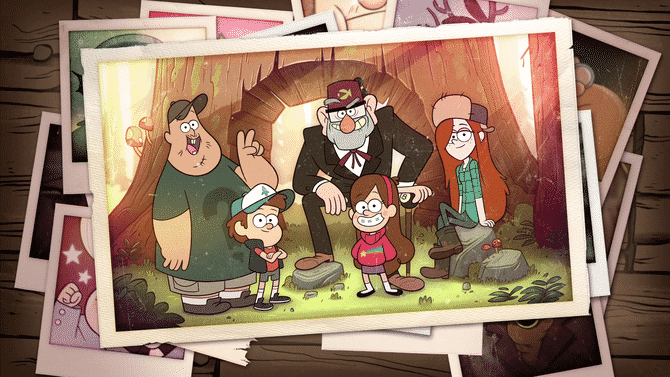 Gravity Falls Core Cast