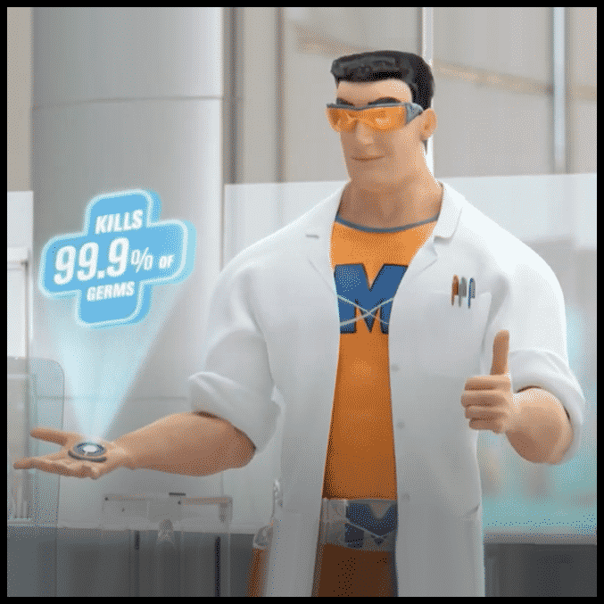 Mr. Muscle takes more than a bite out or crime!