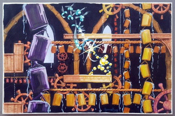 Vectorman Genesis Game Turns 25. The Bamboo Mill concept.