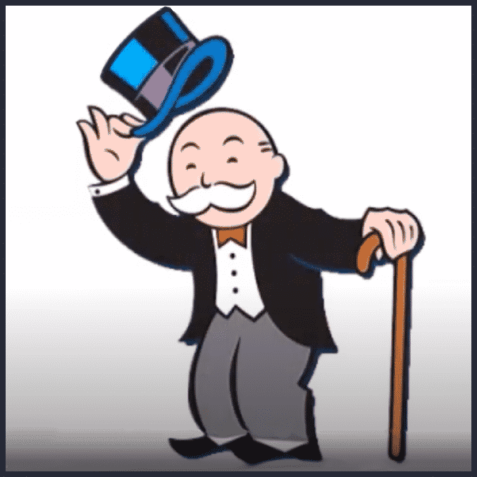 Uncle Pennybags would make a great leader