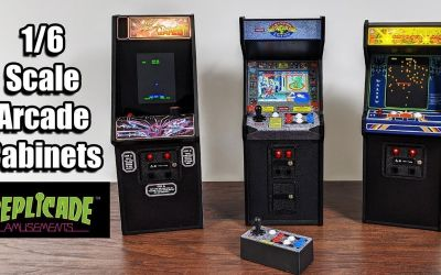 1/6 Arcade Cabinets Street Fighter 2 Tempest Centipede