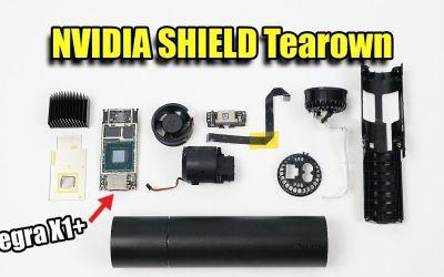 2019 Nvidia Shield TV Teardown – Tube Version