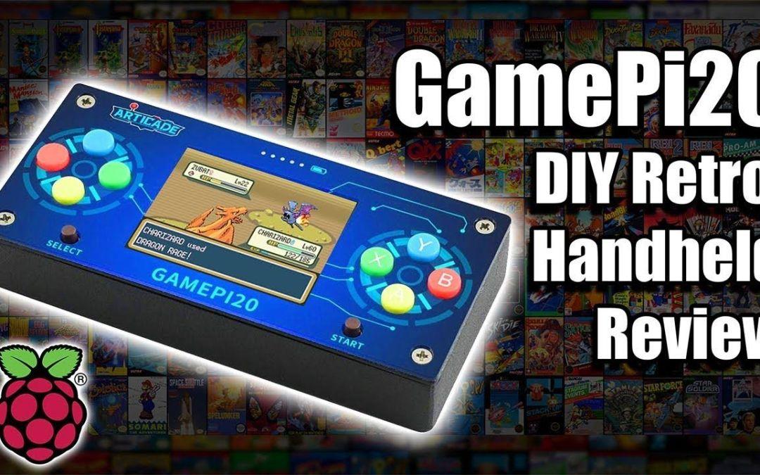 The GamePi20 DIY Retro Raspberry Pi Handheld Review