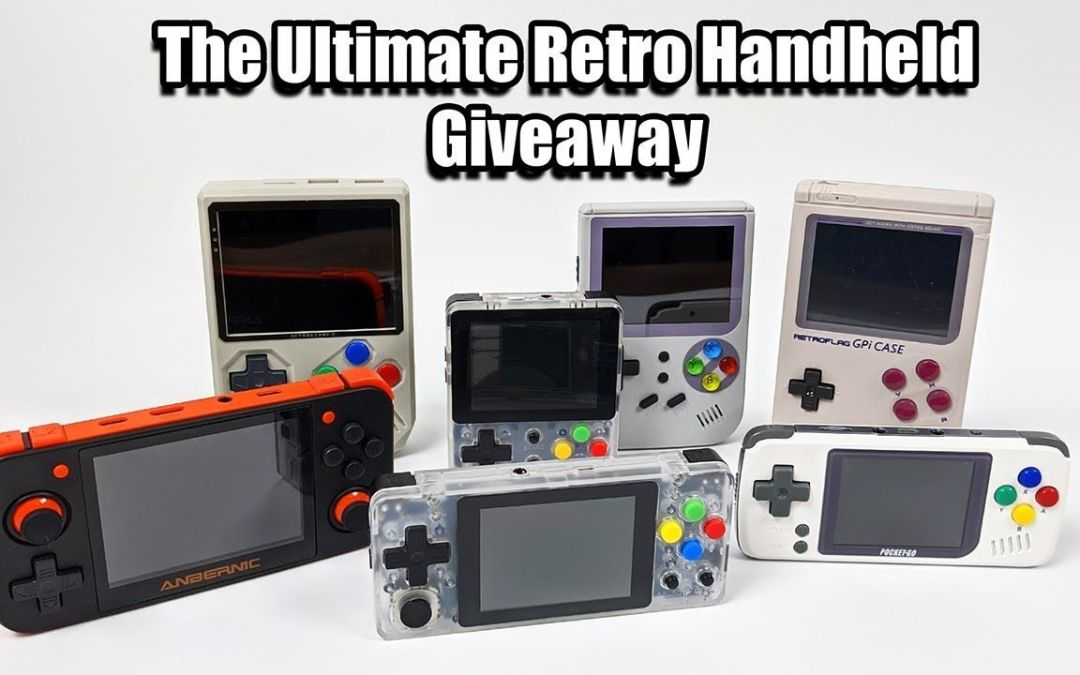 The Ultimate Retro Handheld Giveaway 2019 Edition.