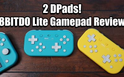 This Switch Controller Has 2 DPADS!  8BITDO Lite Review