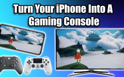 Turn Your iPhone Or iPad Into A Gaming Console – HDMI+Controller+Apple Arcade=Awesome!