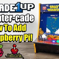 Add a Raspberry Pi To The Arcade1Up Counter Cade!
