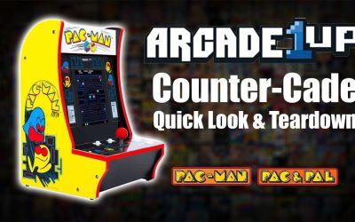 Arcade1UP Counter-Cade Quick Look & Teardown –  Pac Man