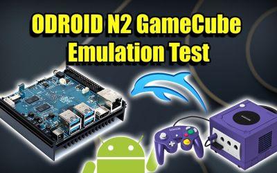 ODROID N2 GameCube Test – Dolphin+ Android+ Vulkan