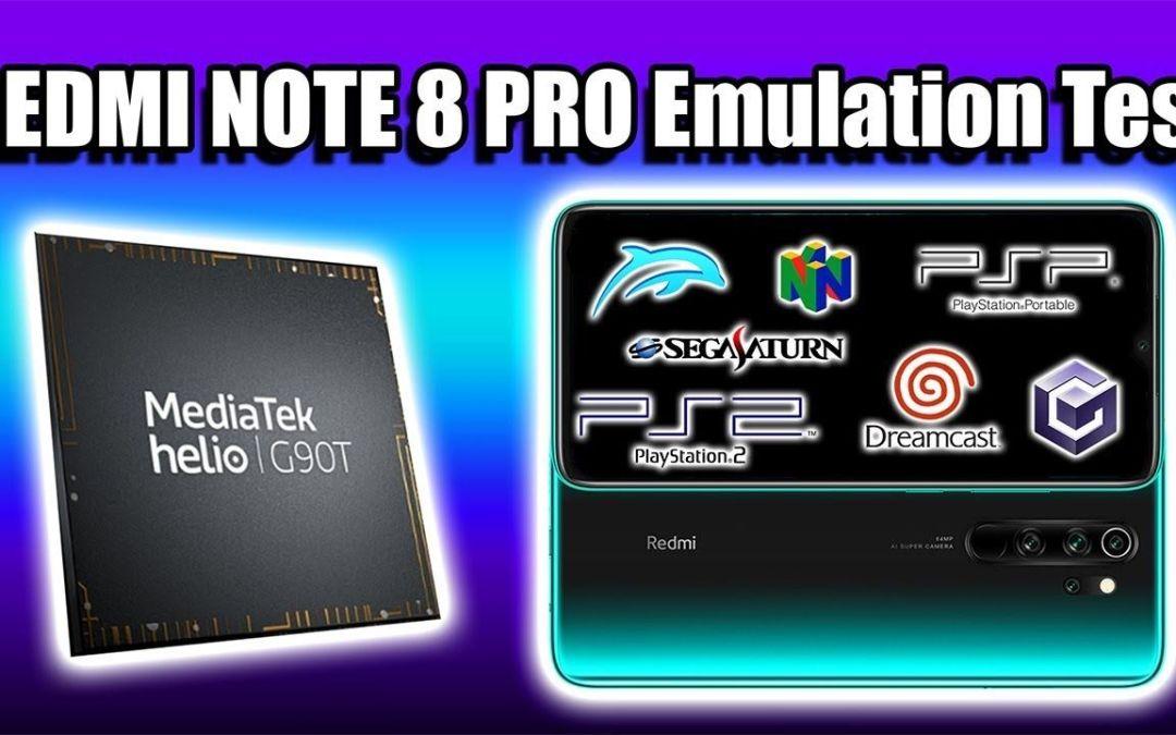 Xiaomi REDMI NOTE 8 Pro Emulation Test – Helio G90T Performance