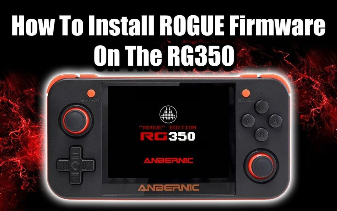 How To Install ROGUE Firmware on The RG350 – Custom Firmware Install
