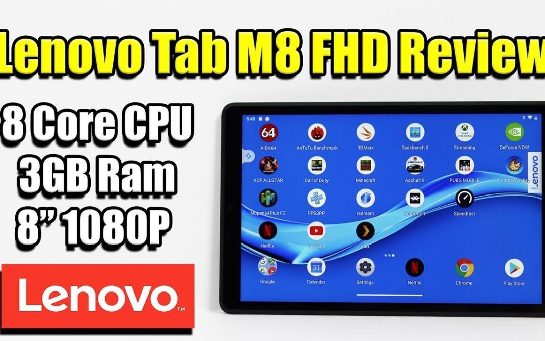 Lenovo Tab M8 FHD Android Tablet Review – Is It Any Good?