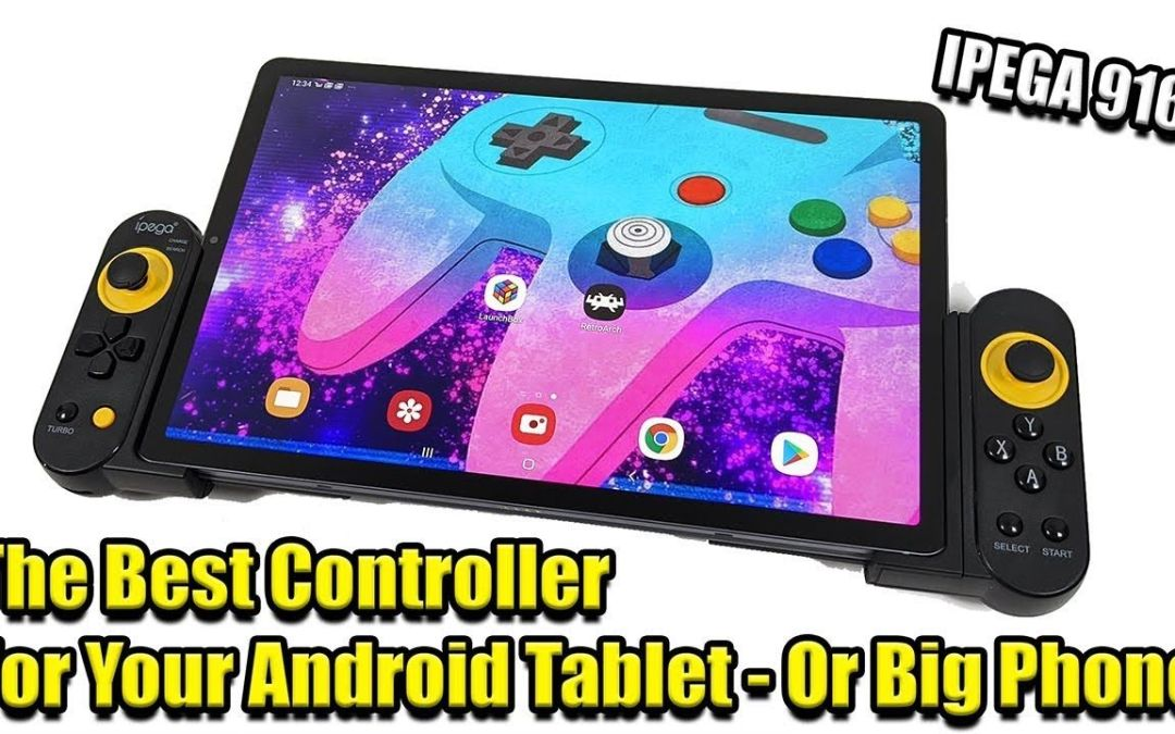 The Best Controller for An Android Tablet iPad  – IPEGA 9167 Review