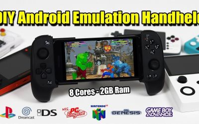 $50 DIY Android Powered Retro Emulation Handheld Console